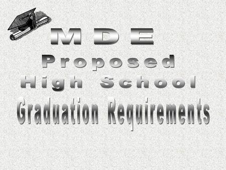 Rigor Relevance Relationships The following graduation requirements incorporate recent changes in required courses by the Board of Education 40=4 years-English.