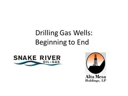 Drilling Gas Wells: Beginning to End. Seismic Exploration.