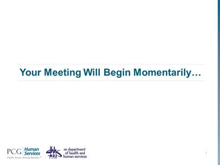 Your Meeting Will Begin Momentarily… 1. Work Support Strategies County Leadership Call and Webinar October 8, 2013 www.pcghumanservices.com.