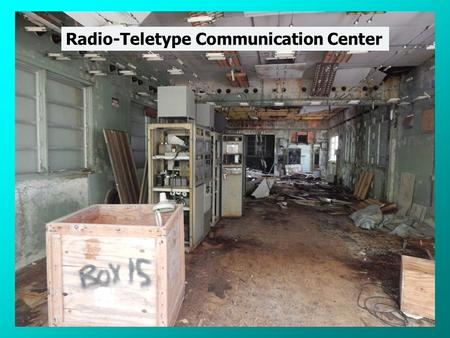 Radio-Teletype Communication Center Japanese Aircraft Revetments.