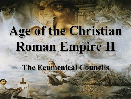 the christian doctrine in the roman empire