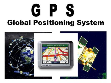 Global Positioning System. God's Plan of Salvation.