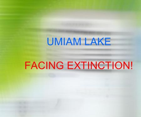UMIAM LAKE FACING EXTINCTION!. Umiam Lake - Snippets  Reservoir of Umiam Hydel Project – Stage I.  Commissioned in 1965 – Ist Hydel Project of NE. 