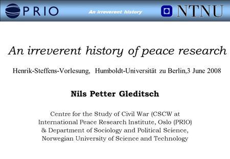Short Story Analysis/ Civil Peace