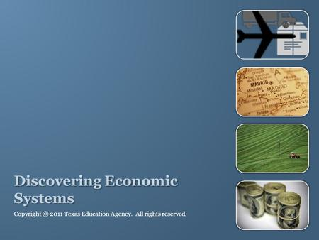 Discovering Economic Systems