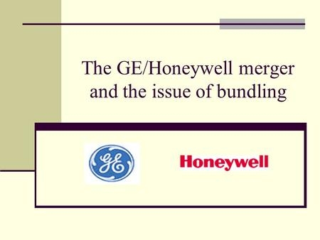 dynamics of negotiations failed ge honeywell merger deal The real thing that could doom the honeywell-united technologies deal is david cote for three years after the merger is ge veteran is convinced.