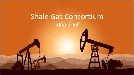 Shale Gas Consortium Idea brief. Situation in Europe Europe – is one of 3 most promising regions (next to US and China) for shale gas production: – Developed.