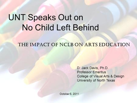 the impact of nclb The no child left behind (nclb) act compelled states to design school-accountability systems based on annual student assessments the effect of this federal legislation on the distribution of student achievement is a highly controversial but centrally important question this study presents evidence.