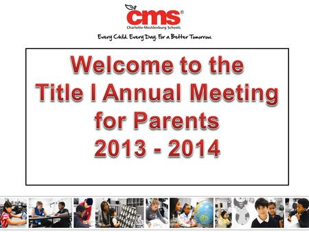 The Elementary and Secondary Education Act (ESEA) requires that each Title I School hold an Annual Meeting of Title I parents for the purpose of…  Informing.