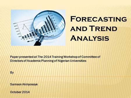 trend analysis paper