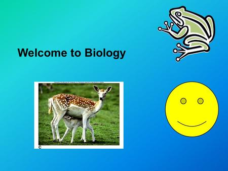 Welcome to Biology. Who am I? Northern Burlington Grad C/O 1994 1999 Graduate of Trenton State College (The College of New Jersey). Double major: Biology/Secondary.