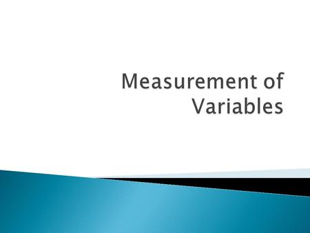  A description of the ways a research will observe and measure a variable, so called because it specifies the operations that will be taken into account.