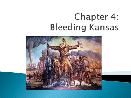  To understand what Bleeding Kansas is we must go back in time…  Issue: Slavery and States rights.  Slavery starts in the New World in the 1600's.