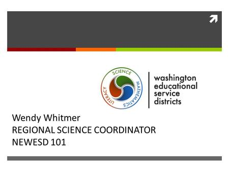  APPLICATION IS ENGINEERING ON THE SCIENCE MSP Wendy Whitmer REGIONAL SCIENCE COORDINATOR NEWESD 101.