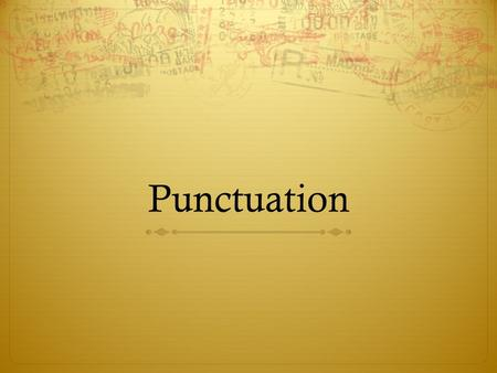 Punctuation. Today will be starting our capitalization and punctuation unit. While you may think that you are pretty good with both capitalization and.