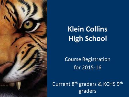 Klein Collins High School