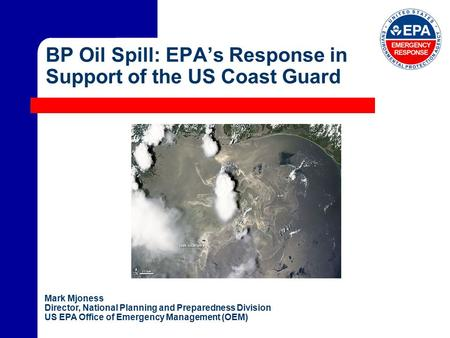 an overview of the epa oil spill program Doi inland oil spill preparedness program (iospp) welcome over the next 30 minutes, i will be providing you with an overview of doi's recently established inland oil spill preparedness program, or iospp through this presentation, you will also learn and remember that bipartisan legislation passed, and the president signed into law.