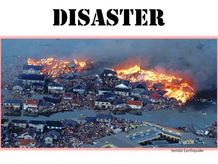 Disaster Sendai Earthquake. Disaster Sendai Earthquake Copyright ©2011 iStockphoto LP.