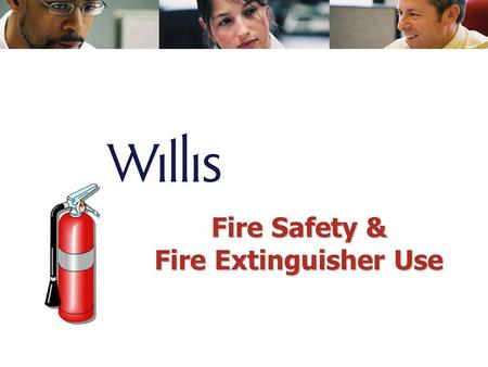 Fire Safety & Fire Extinguisher Use