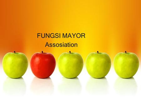FUNGSI MAYOR Assosiation. What Is Association Mining? Association rule mining: –Finding frequent patterns, associations, correlations, or causal structures.