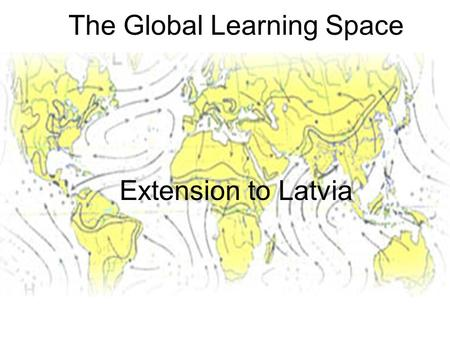 The Global Learning Space Extension to Latvia. Agenda Gunnar Landgren, prorector (5 min) –Welcome –Research and education links between KTH and universities.