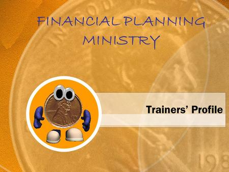 FINANCIAL PLANNING MINISTRY