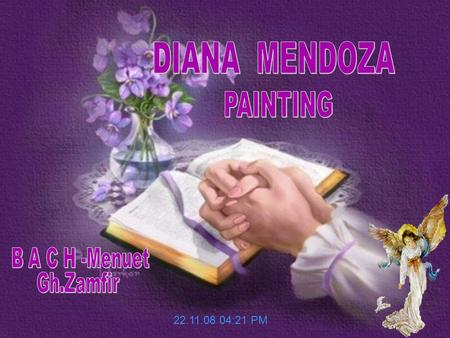 22.11.08 04:21 PM Diana Mendoza was born in Junin, Peru. She graduated in the sixties from the Escuela Nacional de Bellas Artes with one of the highest.