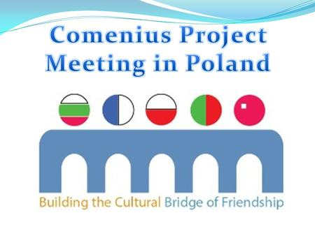 On 21 October, teachers and students from other schools, that participate in Comenius Project, visited our town to continue building our friendship. At.
