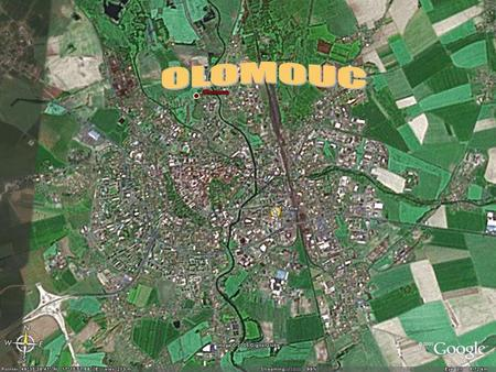 Olomouc. Olomouc is the fifth largest town in Olomouc is the fifth largest town in the Czech Republic with the population about 110,000. the Czech Republic.