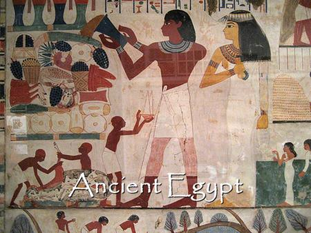 Ancient Egypt. Major Influences The Nile The Nile The Gods The Gods The Afterlife The Afterlife.