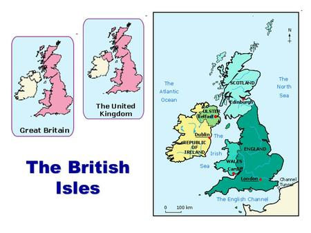 The British Isles. The flag: Union Jack or Union Flag (since 1801) Cross of St George (England) + Cross of St Andrew (Scotland) + Cross of St Andrew.