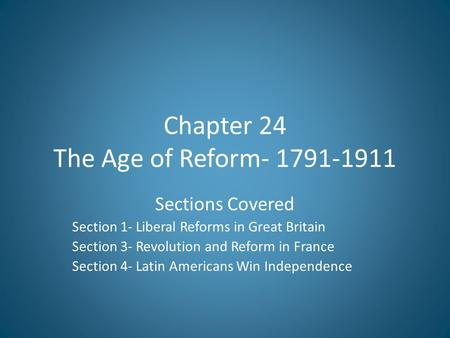 age of reform in america An age of reform, 1820-1840 study plan follow this study plan as you work your way through the online materials check all that apply: watch this chapter's author.