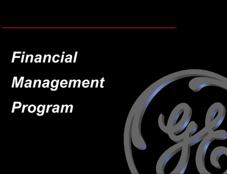 Financial Management Program.