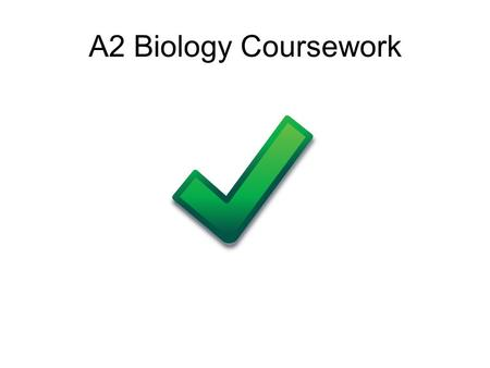 biology ecology coursework Biology coursework help - a2 biology ecology coursework get ready to complete your biology coursework with impressive quality and in a.