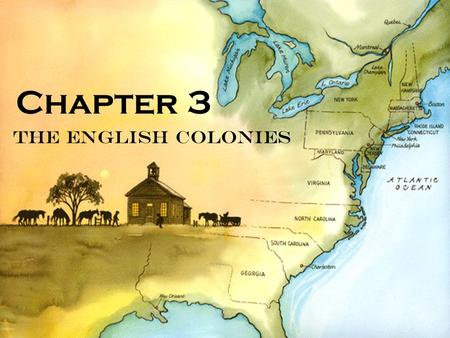 The English Colonies Chapter 3. Massachusetts- 1630 Founders- William Bradford (Pilgrim) John Winthrop (Puritan) Settlers- Puritans seeking religious.