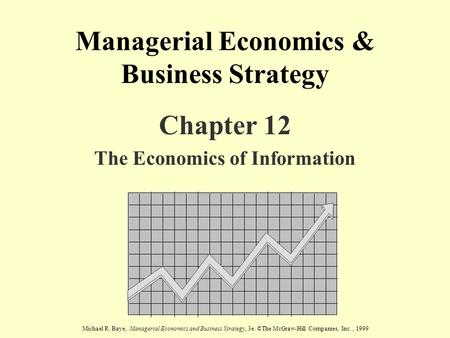 business economics and pricing strategy
