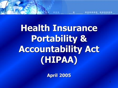 hipaa health insurance portability accountability act essay Hipaa, the health insurance portability and accountability act, sets the standard for protecting sensitive patient data any company that deals with protected health.
