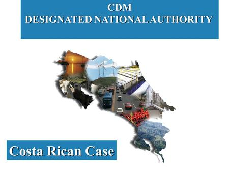 CDM DESIGNATED NATIONAL AUTHORITY Costa Rican Case.