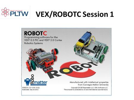 VEX/ROBOTC Session 1.