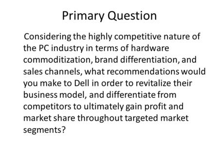 the competitive nature of current industries essay Industry structure and competitive  the end of the 1990s regardless of the outcome of the current congressional debate  analyzing industries and.