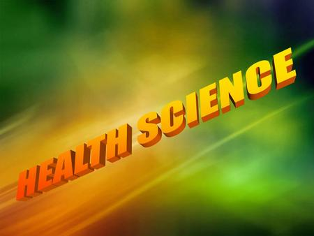 Why Health Science? Healthcare is currently one of the largest and fastest growing career fields. Healthcare is also one of the career fields that currently.