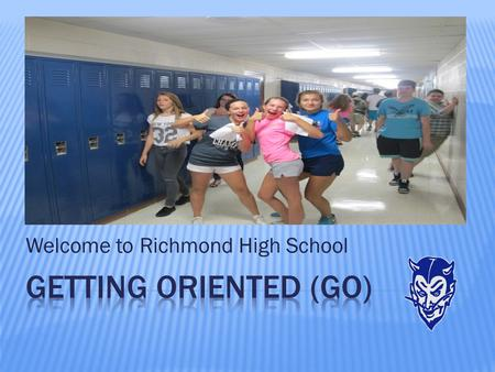Welcome to Richmond High School.  Did many fun activities with Ms. Till and Mrs. Woodruff.