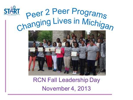RCN Fall Leadership Day November 4, 2013. Demographics Population decline Poverty High Unemployment rate Crime index 86% higher than Mi. avg. Schools.