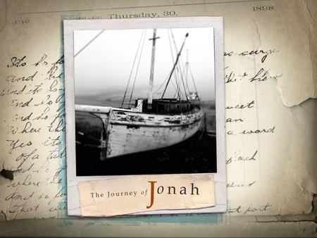 Lessons from Jonah College and Beyond Outline I.Overview of the Story of Jonah II.Lessons to Learn 1.Forgiveness for All 2.The trap of self-righteousness.
