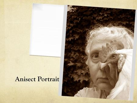 Anisect Portrait. What animal do you want to be?