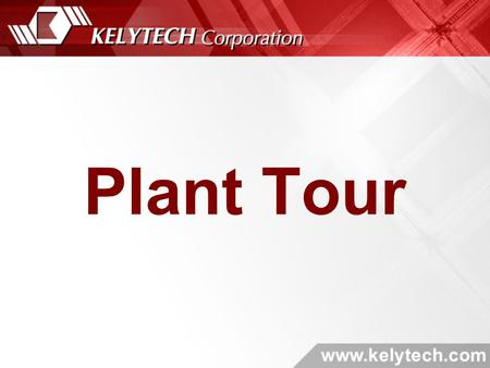 Plant Tour. Front Door & Stockroom Surface Mount Machines.