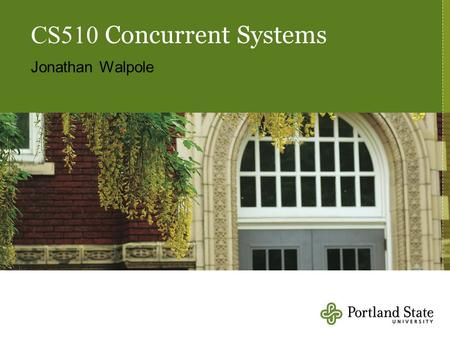 CS510 Concurrent Systems Jonathan Walpole. What is RCU, Fundamentally? Paul McKenney and Jonathan Walpole.