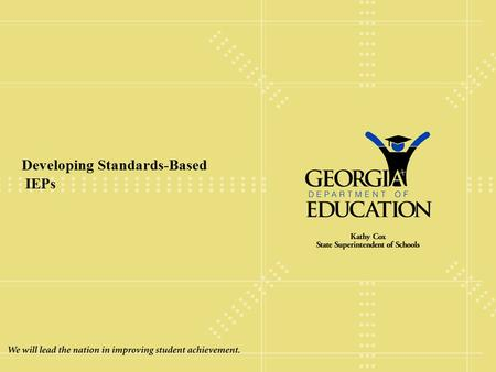 Developing Standards-Based