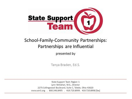 School-Family-Community Partnerships: Partnerships are Influential
