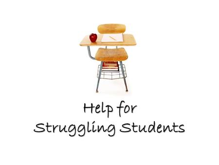 "Help for Struggling Students. ""RTI"" stands for ""Responsiveness to Instruction"" Tier 1: Core instruction, sufficient for 80-90% of students."